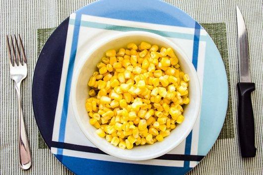 блюдо из кукурузы