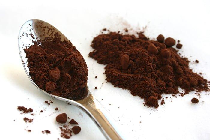 какао в вафлях
