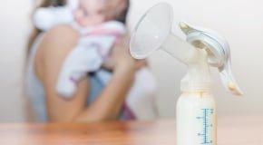 сцеженное молоко