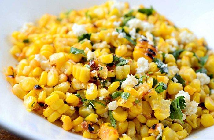блюдо кукурузы