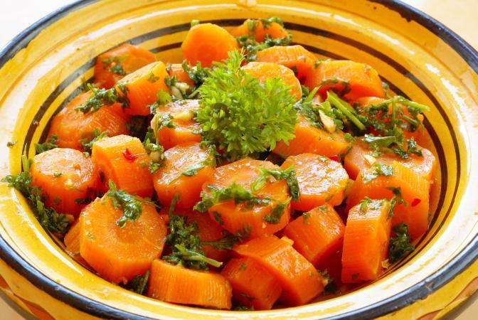 Блюда из моркови при лактации
