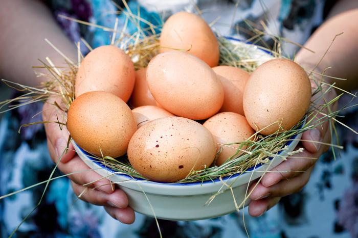Яица для кормящей мамы