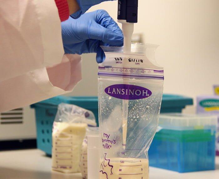 Анализ грудного молока