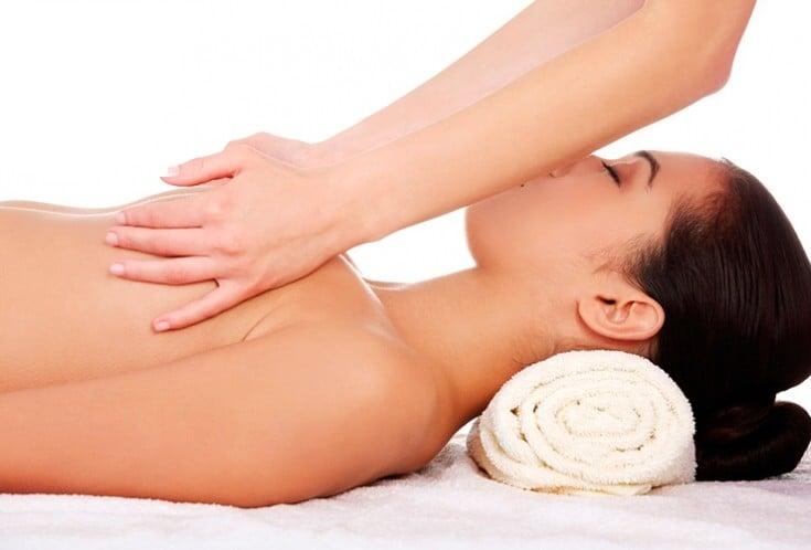 самый лучший массаж самой лучшей женщине с огромной грудью