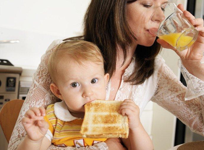 Приучаем к взрослой еде