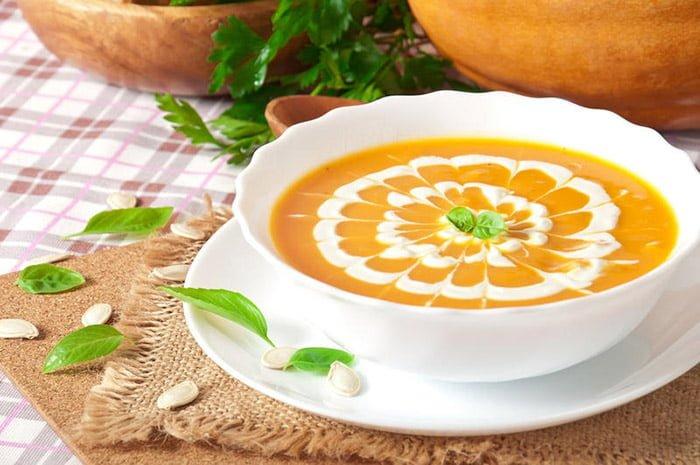 Суп пюре с овощами
