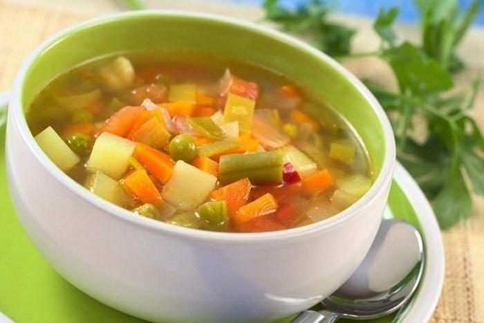 Суп для кормящей мамы