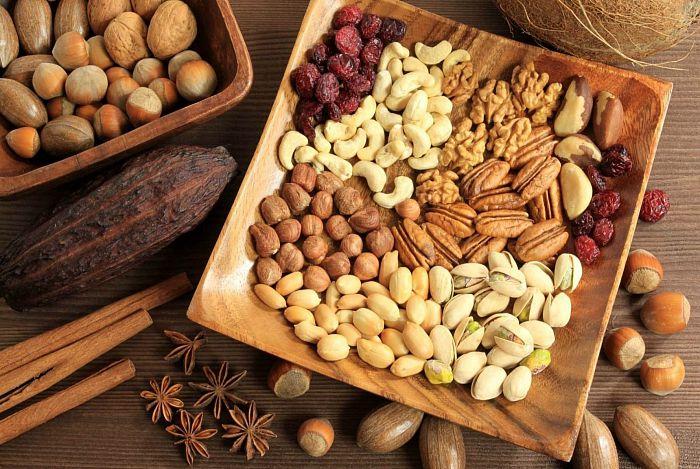 Какие орехи можно при ГВ