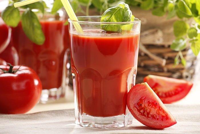 Томатный сок при грудном вскармливании