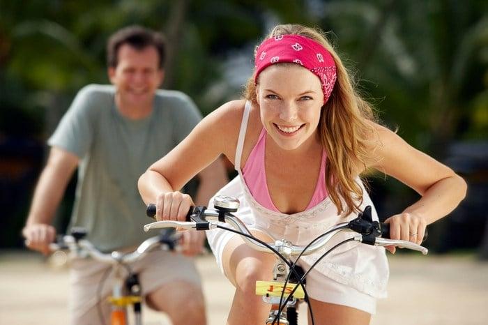Велоспорт для кормящих мам