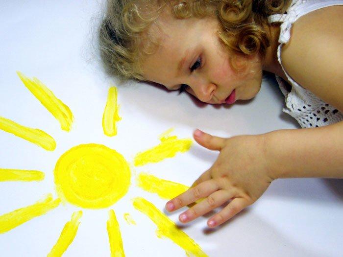 Фотодерматоз у ребенка