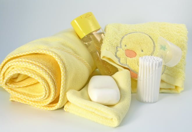 Средства гигиены для новорожденных