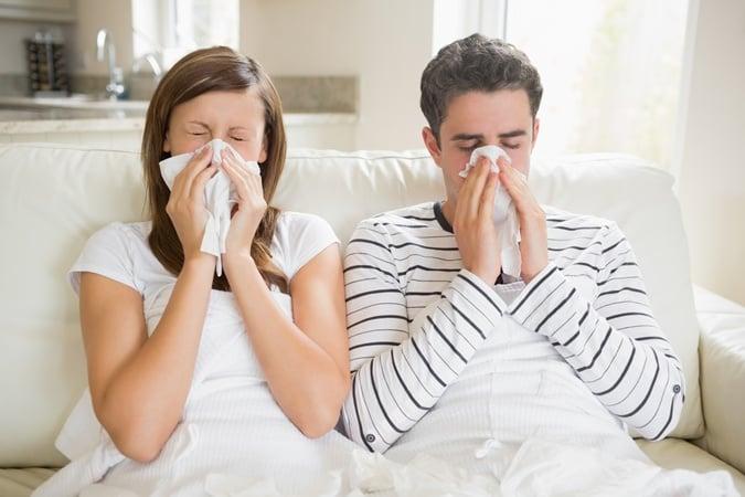 ОРВИ лечение насморка