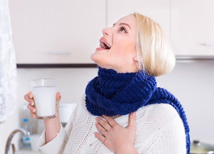 ОРВИ боль в горле