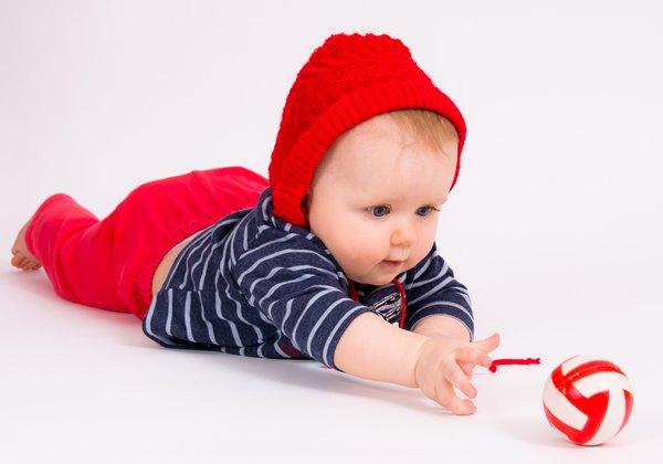 Развитие ребенка в полгода