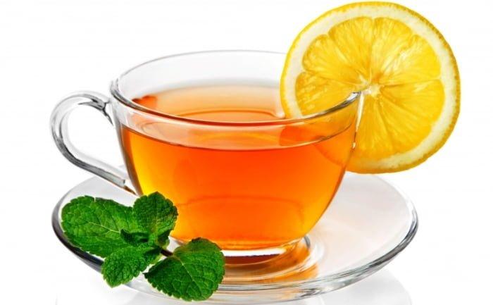 чай с мелиссой и лимоном