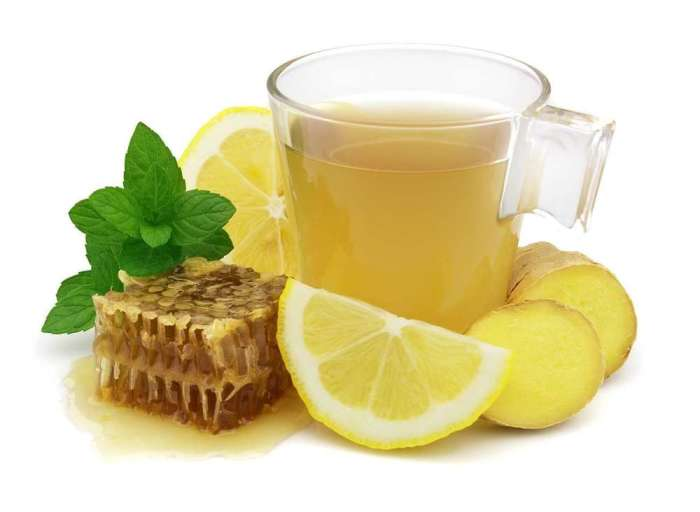имбирно-лимонный напиток для лактации