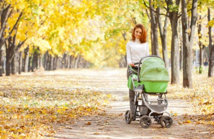 прогулка с 5 месячным ребенком