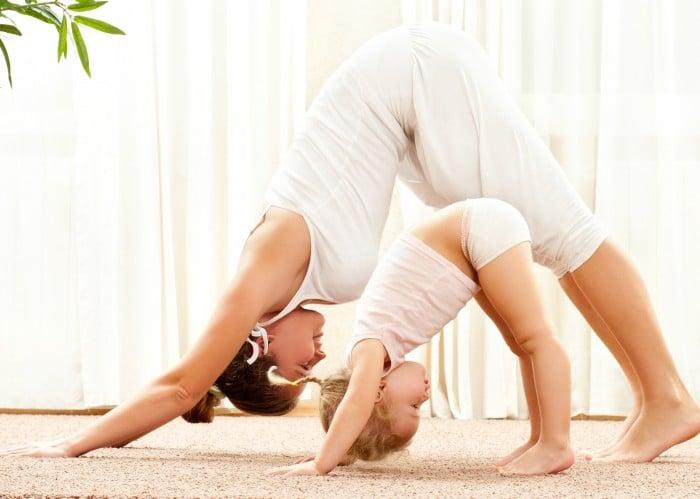 физические нагрузки для мам
