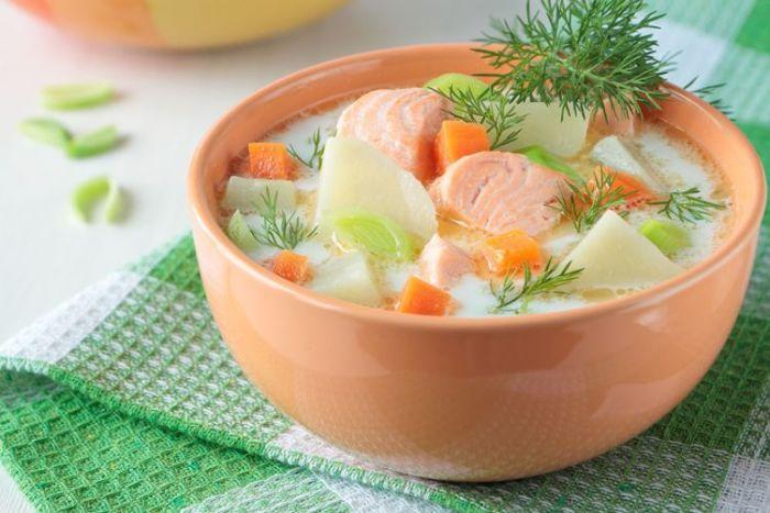 суп из картофеля
