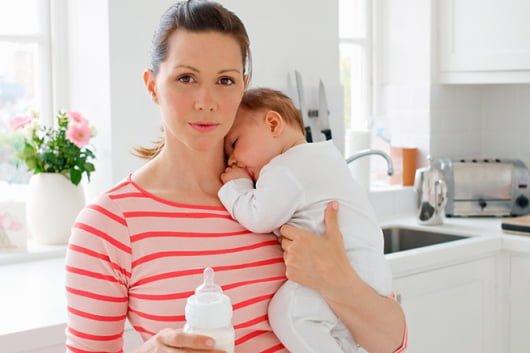 нехватка грудного молока