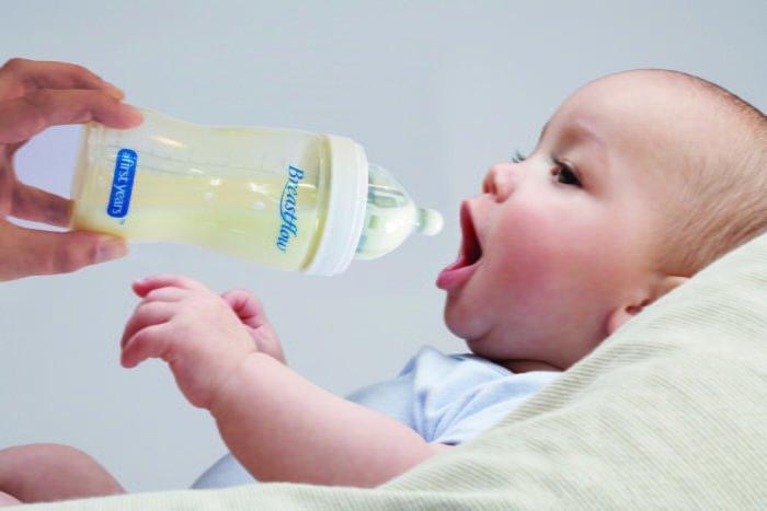 отучение малыша от ночного кормления смесью
