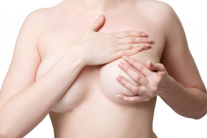 массаж грудных желез