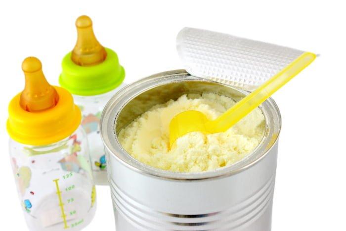 Адаптированные смеси для новорожденных