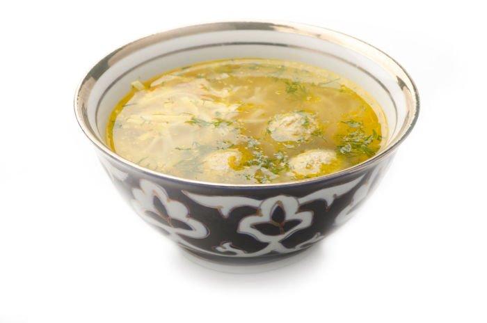 Рисунок тарелка с супом