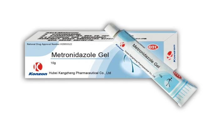 метронидазол гель при грудном вскармливании