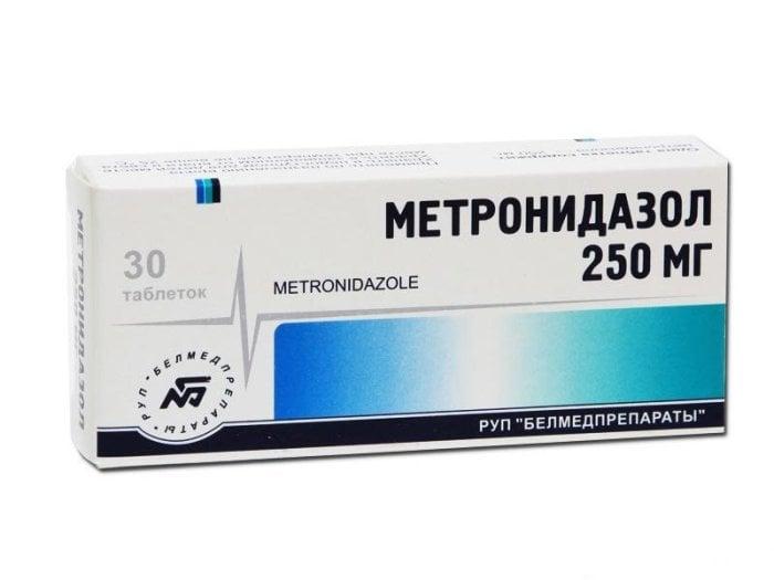 таблетки метронидазол при грудном вскармливании