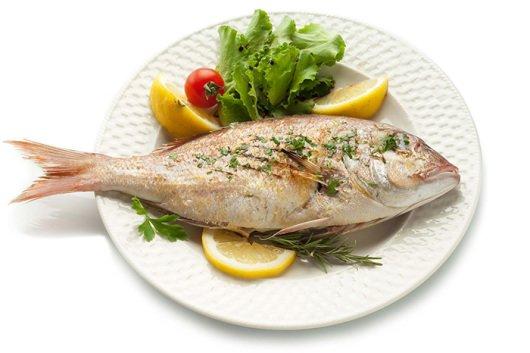 рыба в качестве первого прикорма