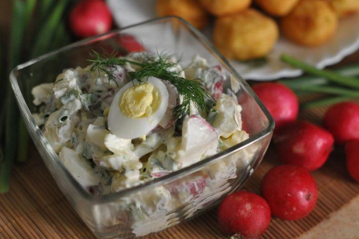 картофельный салат с душицей при грудном вскармливании