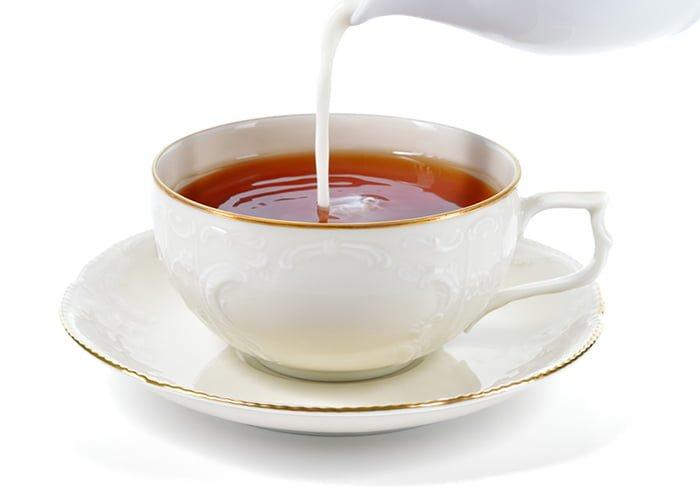 чай с молоком при лактации
