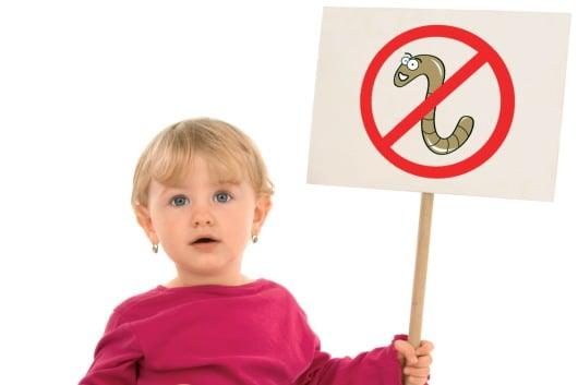 глисты у ребенка в 2-3 года