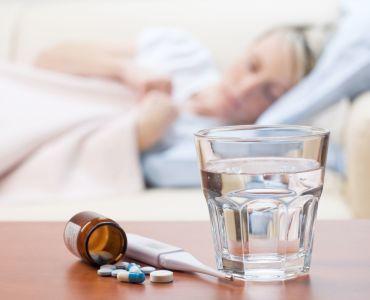 грипп у кормящей мамы