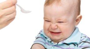 малыш отказывается от прикорма