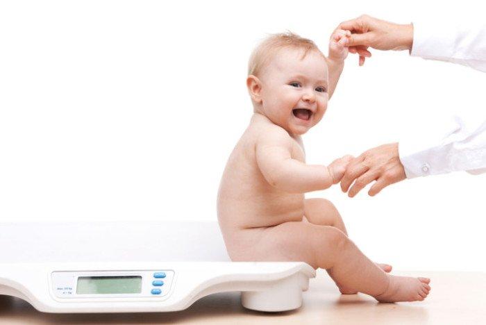 норма веса новорожденного