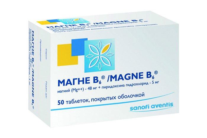 таблетки магний-в6