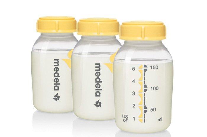 банки для сцеженного молока
