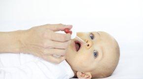 закапывание носа грудничку