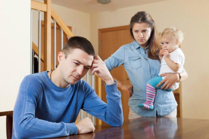 развод с женой если дети было