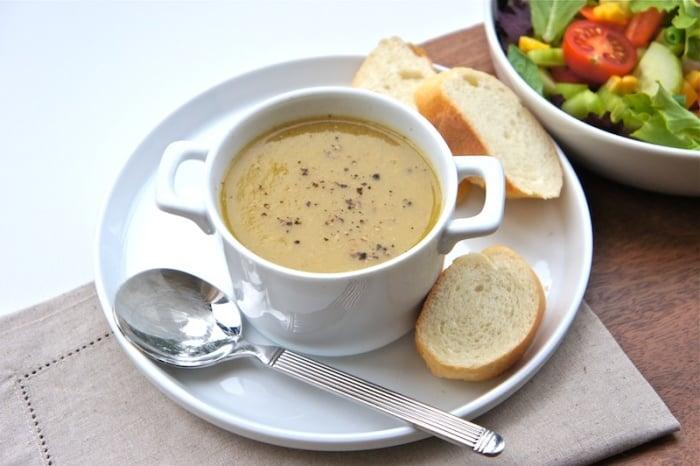 суп-пюре для ребенка из курицы
