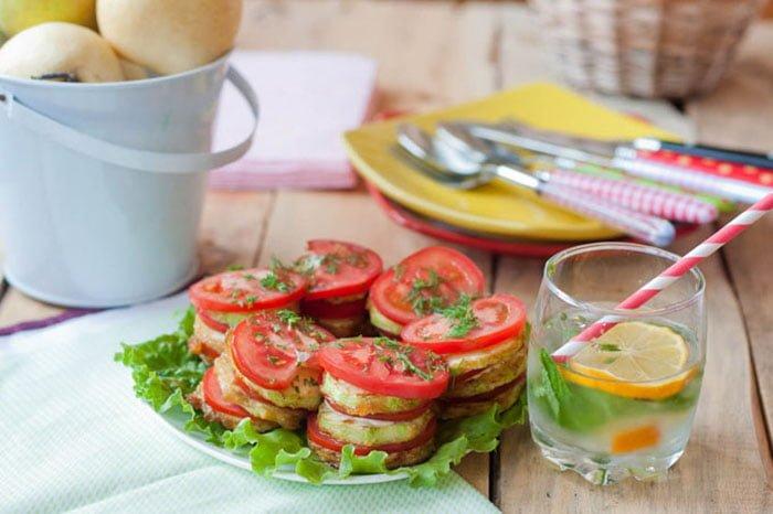 теплый овощной салат для детей