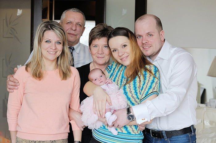 гости в доме с новорожденным