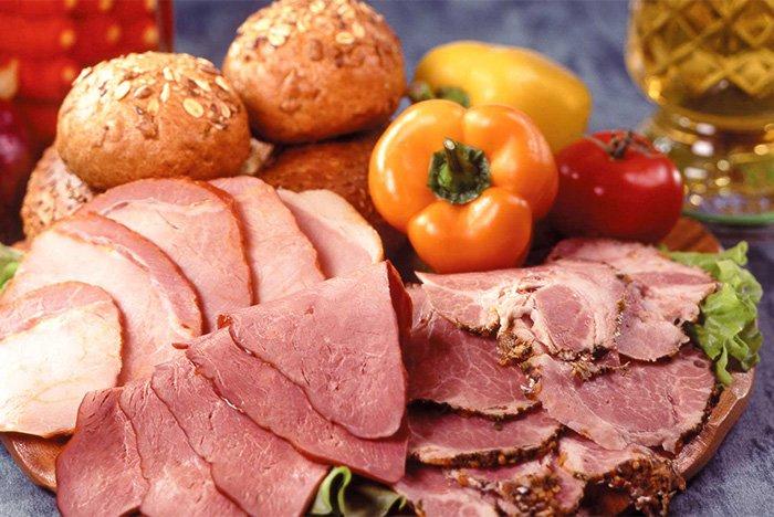 копчено-вареное мясо