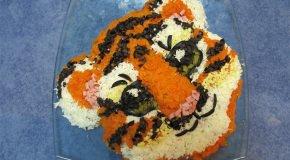 салат для ребенка 1-2 лет
