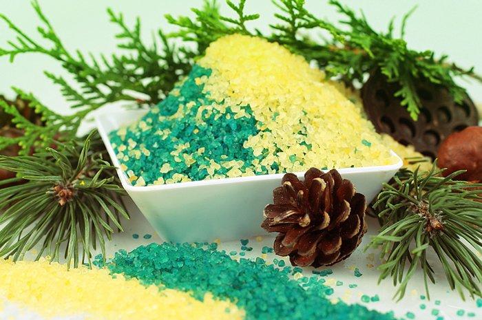 хвойно-солевые ванны для детей