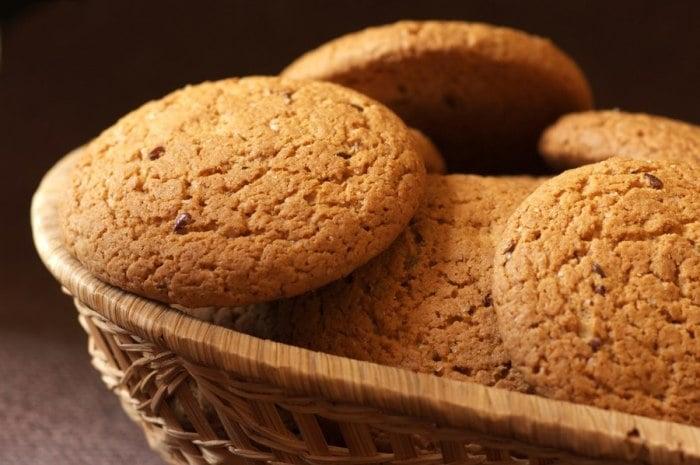 классическое овсяное печенье