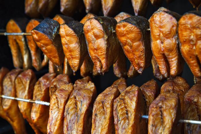 горячее копчение рыбы